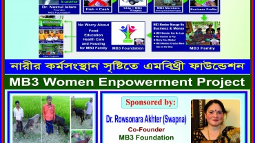 MB3 Women Empowerment Project, Satkhita.